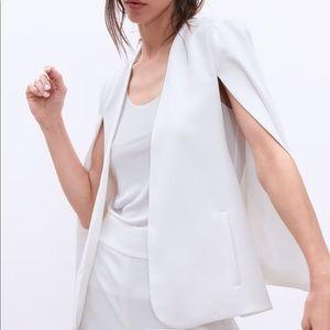 ZARA blazer cape with slits